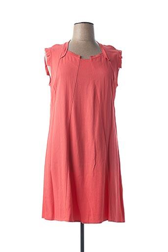 Robe mi-longue rose MADO ET LES AUTRES pour femme