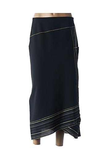 Jupe longue noir QUATTRO pour femme