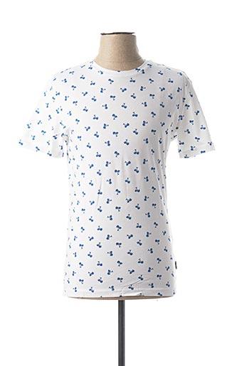 T-shirt manches courtes bleu ONLY&SONS pour homme