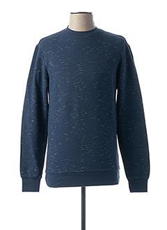 Sweat-shirt bleu ONLY&SONS pour homme