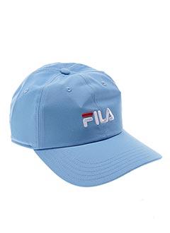 Casquette bleu FILA pour unisexe