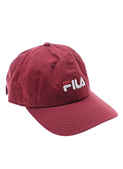 Casquette rouge FILA pour unisexe