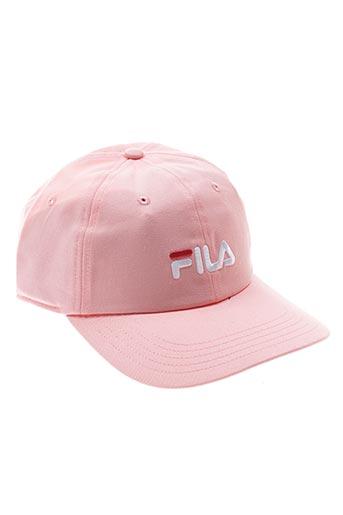 Casquette rose FILA pour unisexe