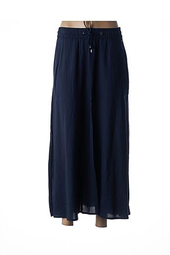 Jupe longue bleu CECIL pour femme