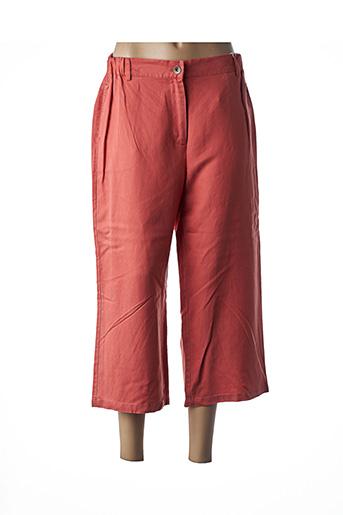 Pantalon 7/8 orange C'EST BEAU LA VIE pour femme