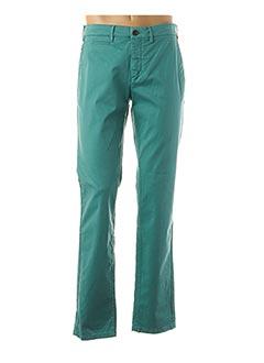 Pantalon casual vert CAMBRIDGE pour homme
