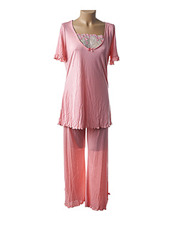 Pyjama rose LA PLUS BELLE pour femme
