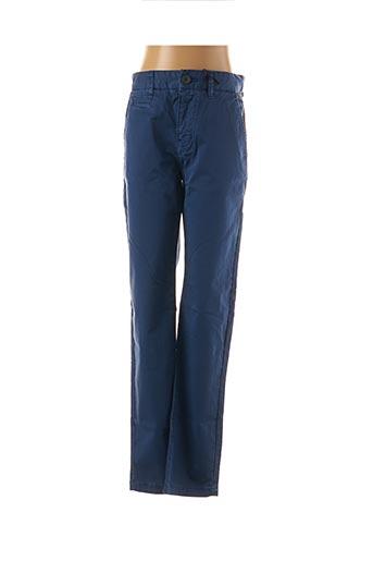 Pantalon casual bleu HERO SEVEN pour garçon