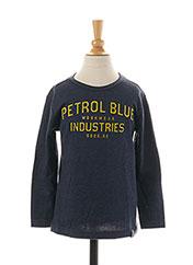 T-shirt manches longues bleu PETROL INDUSTRIES pour garçon seconde vue