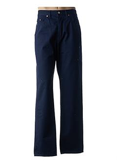 Pantalon casual bleu BUFFALO pour homme