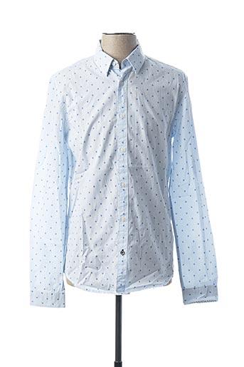 Chemise manches longues bleu SALSA pour homme