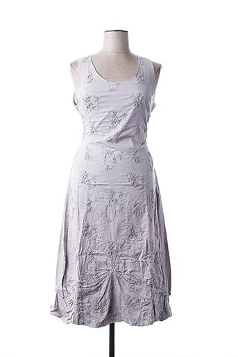 Robe mi-longue gris ALL BEAUTIFUL pour femme