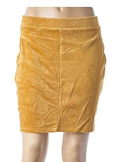 Jupe courte jaune EDC BY ESPRIT pour femme