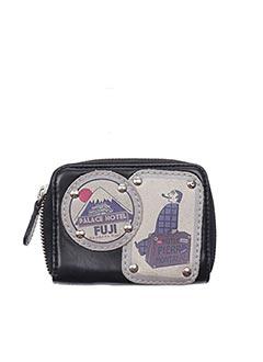 Porte-monnaie noir BARBARA RIHL pour femme