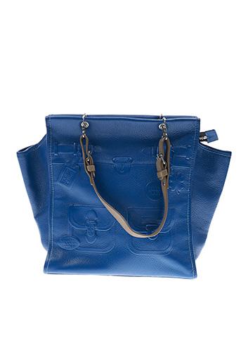 Sac bleu BARBARA RIHL pour femme