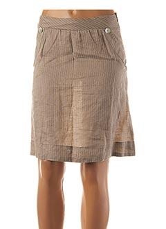 Jupe courte beige BEST MOUNTAIN pour femme