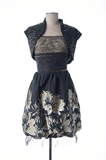 Veste/robe noir LINEA RAFFAELLI pour femme