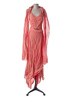 Top/jupe orange LINEA RAFFAELLI pour femme