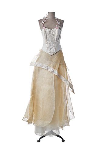 Top/jupe beige ELSA GARY pour femme