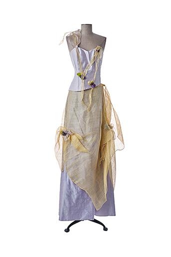 Top/jupe violet ELSA GARY pour femme