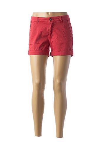 Short rouge KAPORAL pour femme