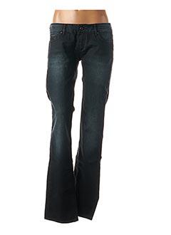 Jeans coupe droite noir KAPORAL pour femme