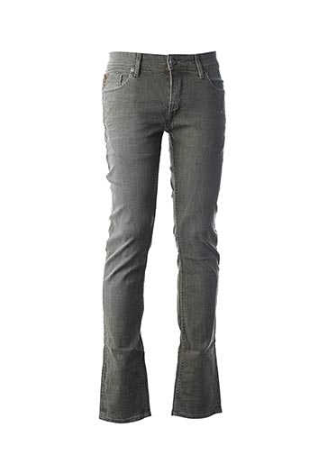 Jeans coupe slim vert TEDDY SMITH pour homme