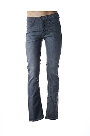 Jeans coupe slim gris LEE pour homme