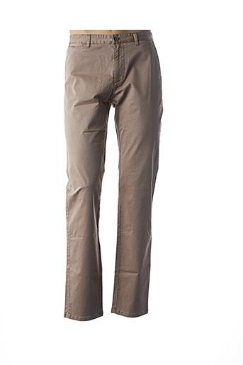 Pantalon casual beige MEN OF ALL NATION pour homme