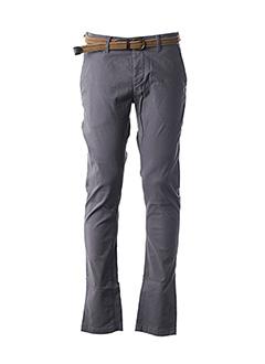 Pantalon casual gris KAPORAL pour homme