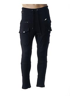 Pantalon casual noir KAPORAL pour homme