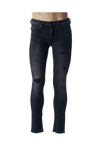 Jeans skinny noir KAPORAL pour homme