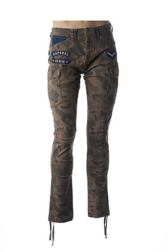 Pantalon casual marron KAPORAL pour homme