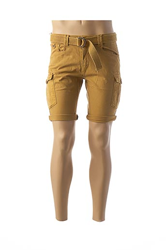 Bermuda jaune KAPORAL pour homme