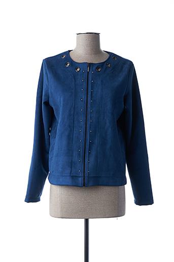 Veste chic / Blazer bleu COTTON BROTHERS pour femme
