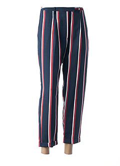 Pantalon 7/8 bleu RINASCIMENTO pour femme