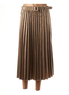 Jupe mi-longue beige MOLLY BRACKEN pour femme