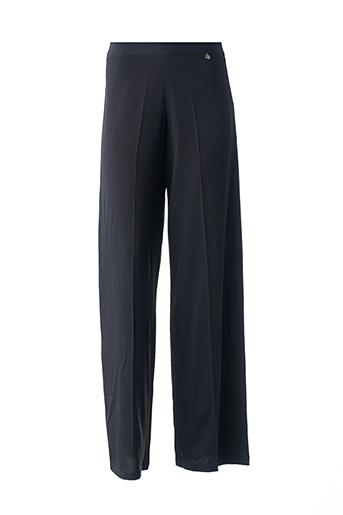 Pantalon chic noir FRACOMINA pour femme