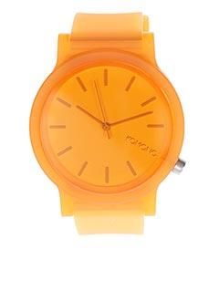 Montre orange KOMONO pour femme