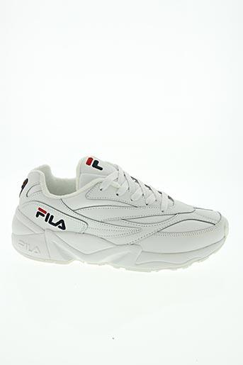 Baskets blanc FILA pour unisexe