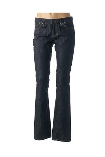 Jeans coupe slim bleu CORLEONE pour femme