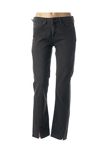 Jeans coupe slim noir FIVE pour femme