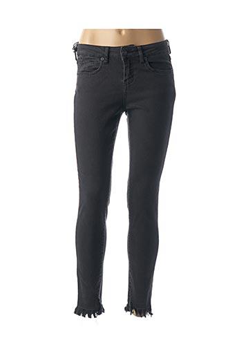Jeans skinny noir FIVE pour femme