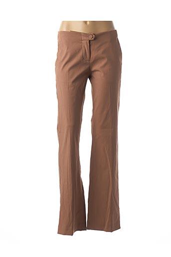 Pantalon casual marron MALENE BIRGER pour femme