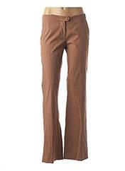 Pantalon casual marron MALENE BIRGER pour femme seconde vue