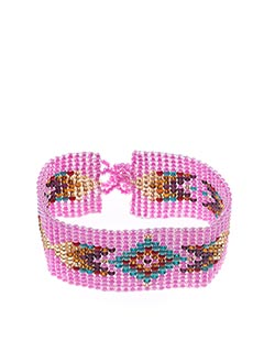 Bracelet rose MAMAGAYO pour femme