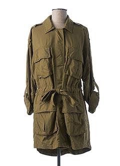 Veste casual vert ONLY pour femme