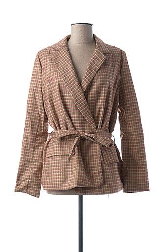 Veste chic / Blazer beige FRNCH pour femme