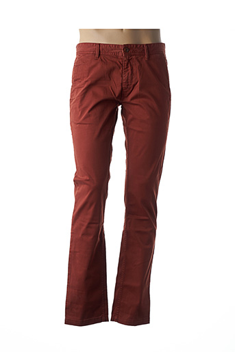 Pantalon casual orange HUGO BOSS pour homme