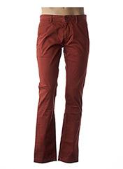 Pantalon casual orange HUGO BOSS pour homme seconde vue